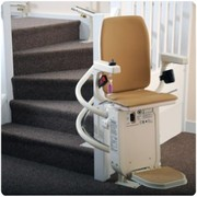 New Platinum Curved Stairlift