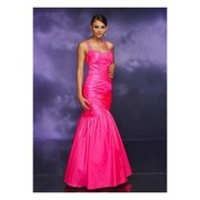 Wonderful Mermaid Scoop Satin Evening Dress with Floor Length