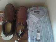 shoes and shirt brand new